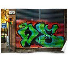 Graffiti : Barcelona Poster