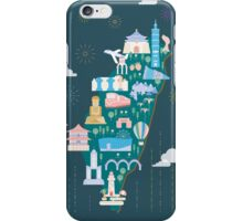 Lovely Taiwan illustration iPhone Case/Skin