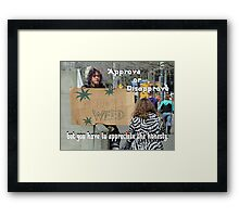 """Appreciate the Honesty"" by Carter L. Shepard Framed Print"
