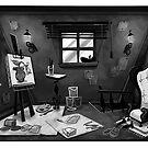 Studio Interior by Freddie Elsom