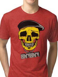 'BAM BAM' SKULL Tri-blend T-Shirt