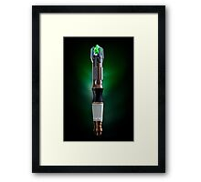 11th Doctor Who Sonic Screwdriver photograph Framed Print