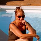 Moi By The Pool by Fara