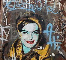 "Warhol Stencil Graffiti ""Ms.Fab"" by Punk60"
