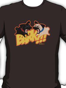 2Pug Bark! (orange) T-Shirt