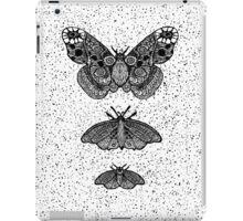 Moths not butterflies iPad Case/Skin