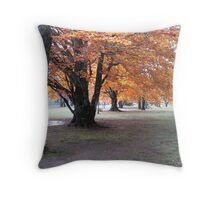 Trees in the Fall Throw Pillow