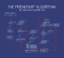 Sheldon Big Bang Theory Friendship Algorithm by Nichimid