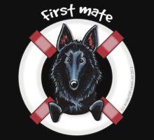 Belgian Sheepdog :: First Mate Kids Tee