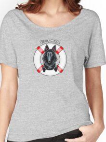 Belgian Sheepdog :: First Mate Women's Relaxed Fit T-Shirt