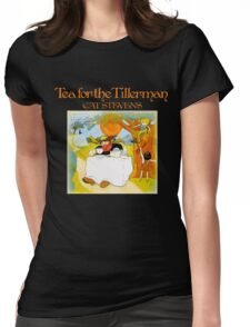 Vintage Cat Stevens Tea For The Tillerman Womens Fitted T-Shirt