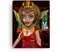 Queen of Heart: the eve before the Fall Canvas Print
