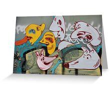 Street Art Graffiti Poster and Tee Greeting Card
