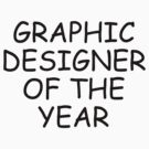 Graphic Designer Of The Year by doodlemarks
