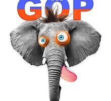 GOP (Republican Party) Mascot by feldspar-quartz