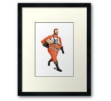 Red Six - Jef Porkins Framed Print
