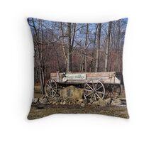 Wagon Way Throw Pillow