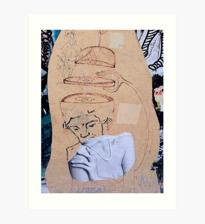 Street Art - Fantastic Abstract Modern Montage Art Print