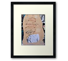 Street Art - Fantastic Abstract Modern Montage Framed Print