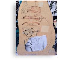Street Art - Fantastic Abstract Modern Montage Canvas Print