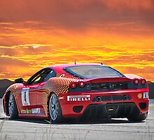 Ferrari F430 Going Away by DaveKoontz