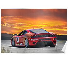 Ferrari F430 Going Away Poster