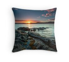 New Day, East Beach, Low Head, Tasmania, Australia Throw Pillow