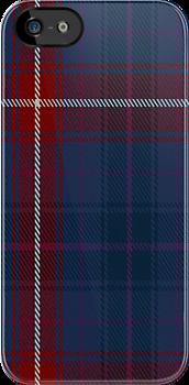 01298 United Scots American Fashion Tartan Fabric Print Iphone Case by Detnecs2013