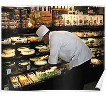 Pastry Deli Chef Poster
