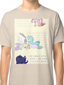 I Am A Princess [MLP Princesses] Classic T-Shirt