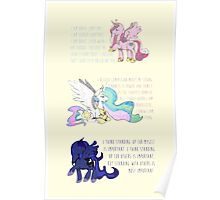I Am A Princess [MLP Princesses] Poster