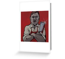 bloodthirsty Greeting Card