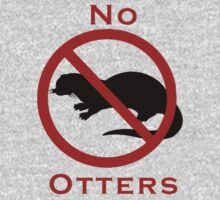 No Otters on the Flight Deck One Piece - Long Sleeve