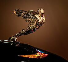 1933 Cadillac Mascot and Emblem by Kurt Golgart