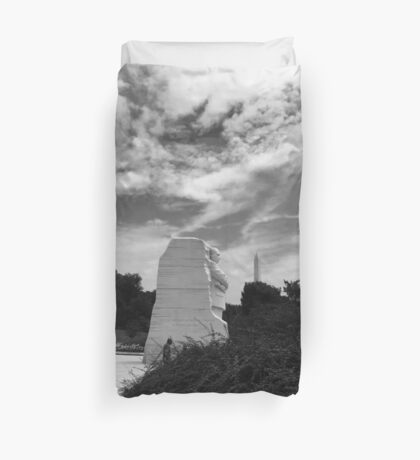 Martin Luther King Jr In Dc Duvet Cover