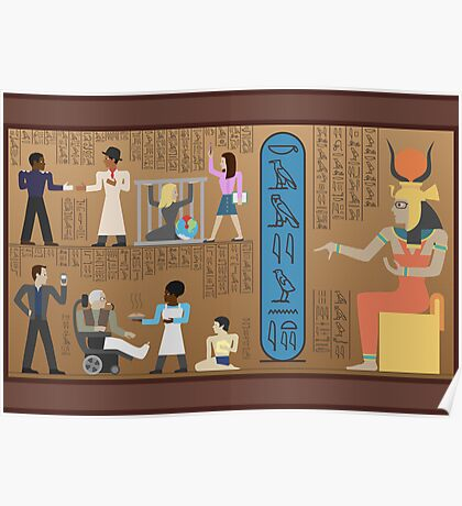 Communities of Ancient Egypt Poster