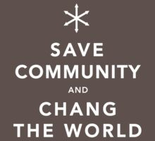 Save Community & Chang the World One Piece - Short Sleeve