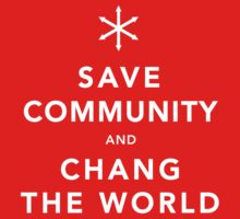 Save Community & Chang the World Baby Tee