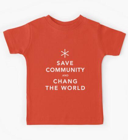 Save Community & Chang the World Kids Tee