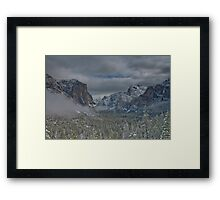 Clearing Tempest Framed Print
