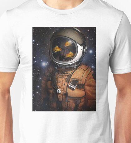 Astronauts and Goldfish Unisex T-Shirt