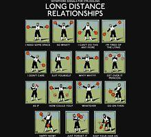 Long Distance Relationships - Struggling Unisex T-Shirt