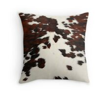 Cow Spots Print Throw Pillow