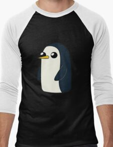 Cute Animated Penguin  Men's Baseball ¾ T-Shirt