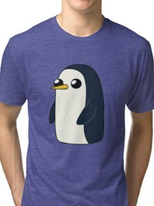 Cute Animated Penguin  Tri-blend T-Shirt