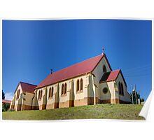 St Andrews Catholic Church Nimmitabel  NSW Australia  1850 Poster