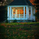 Late Day Sun on a Gazeebo by Nazareth