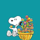 Snoopy Easter by gleviosa