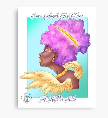 Higher Halo Canvas Print