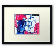 milk jug Framed Print